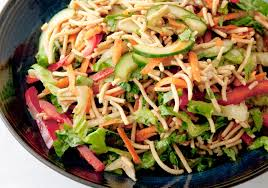 noodle salad recipes crunchy noodle salad low fodmap existential crunch pinterest