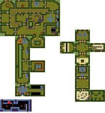 dungeon floor plans link u0027s awakening walkthrough u2013 key cavern u2013 zelda dungeon