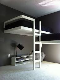 Designs For Building A Loft Bed by Best 25 Beds For Small Rooms Ideas On Pinterest Girls Bedroom