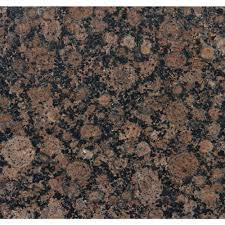 Floors And Decors by Ms International Baltic Brown 12 In X 12 In Polished Granite