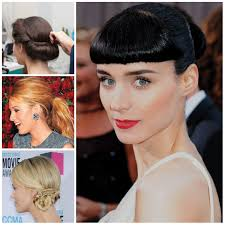 top 5 easy updos to wear right now haircuts hairstyles 2017 and