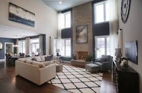 Todays Top Model Homes Reveal Newest Design Trends - Model homes decorated