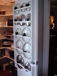 kitchen cabinet door pot and pan lid rack organizer how to store pot lids 8 options for any kitchen home