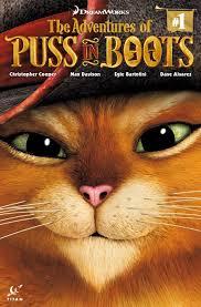 puss boots titan comics