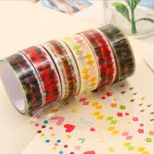 Decorative Scotch Tape Wholesale 2016 Korean Decorative Adhesive Tape Scrapbooking Tools