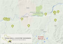 Texas Hill Country Map 2 Largest Lakes On Hill Country Ranch