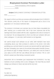 sample employment contract letter letter idea 2018