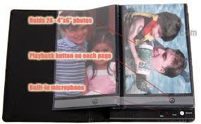 talking photo album talking photo album record audio for each photo in the album