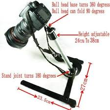 camera copy stand with lights copy stand for camera dslr photography product shoot ebay