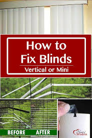 How To Fix Mini Blinds Bedroom How To Repair A Broken Lift Cord On Window Blinds Amp