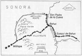San Pancho Mexico Map by Orson Pratt Brown Life Times Family