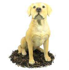golden labrador resin garden ornament 99 99 garden4less