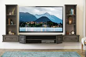 Living Room Entertainment Furniture 21 Floating Media Center Designs For Clutter Free Living Room