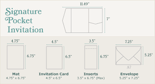wedding invitation size diy wedding invitations guide cards pockets