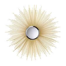 Vintage Style Home Decor Wholesale Wholesale Super Celestial Sun Wall Mirror Retro Style Golden Rays