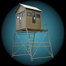 Scissor Lift Hunting Blind Deer Blinds Bull Creek Outdoors Deer Blinds Duck Blinds Hog
