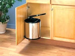 trash can cabinet lowes lowes kitchen trash cans trash can inside cabinet kitchen pull out
