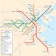 Silver Line Boston Map by Beyondwords John Fallon Train