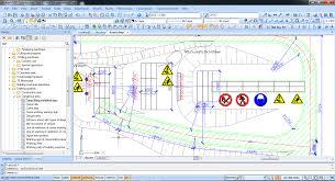 construction site plan nanocad construction site