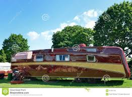 luxury caravan very large luxury caravan stock photo image 41251709
