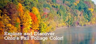 fall color continues spread ohio paulding county