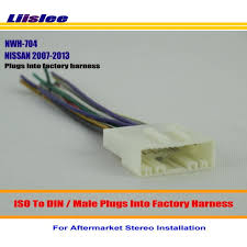 liislee for nissan pathfinder quest rogue male iso radio wire