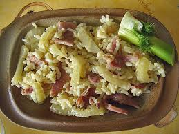 cuisiner le fenouil cru riz fenouil jambon cru recette