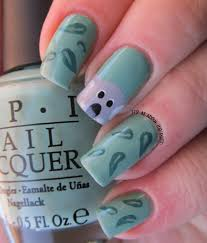 it u0027s all about the polish koala and gum leaves nail art