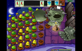 plants vs zombies the flaming bard