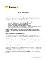 annual report template 7 free templates in pdf word excel download