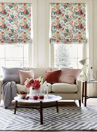 floral blooms create a summer look in your living room