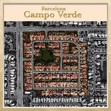 Map Of Chandler Az Barcelona At Campo Verde Chandler Az By Meritage Homes