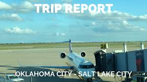 Oklahoma Travel Air images Trip report oklahoma city okc to salt lake city slc delta jpg