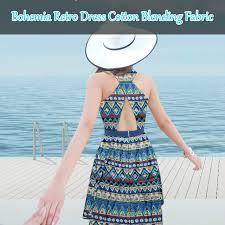 aliexpress com buy bohemia folk style retro dress cotton linen