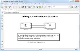 android documentation import project into android studio matlab simulink