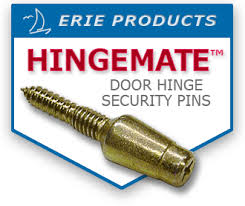 Security Hinges For Exterior Doors Protect Entry Doors From Thieves And Burglars With Erie Products