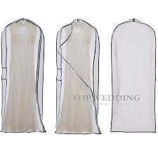 wedding dress garment bag white wedding dress suit garment bag clothes packing dust cover