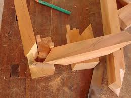 3 way miter joint chinese style fine woodworking wood joinery
