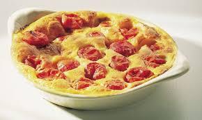 cuisiner les tomates cerises recette clafoutis aux tomates cerises et parmesan