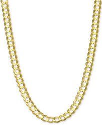 curb link necklace images Macy 39 s 24 quot open curb link chain necklace 4 5 8mm in solid 14k tif