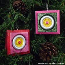 diy vintage style wood christmas ornaments domestically speaking