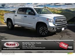 toyota tundra colors 2014 2014 white toyota tundra sr5 trd crewmax 4x4 88103462