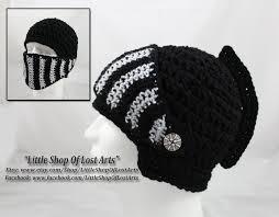 crochet pattern knight helmet free crochet black knights helmet by littleshopoflostarts on deviantart