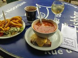 la cuisine du nord calamari fish soup de noordzee picture of noordzee mer du nord