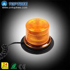 magnetic base strobe light magnetic base amber led strobe light beacon lighting flash warning