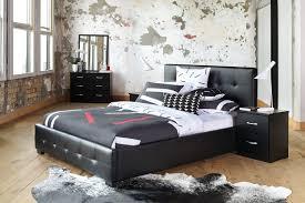 stockholm king bed frame by nero furniture harvey norman zealand