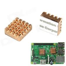 raspberry pi heat sinks copper heat sink for raspberry pi 2 model b b red copper 2pcs