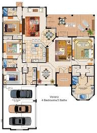 floor plan of house i this plan the durango model plan features a compelling