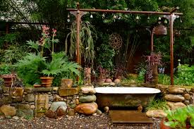 Garden Bathroom Ideas by Bathtubs Fascinating Bathtub Garden Inspirations Garden Bathtub