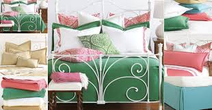 Coral And Gold Bedding Colorful Cotton Matelasse Bedding In Coral Aqua Gold Green Or